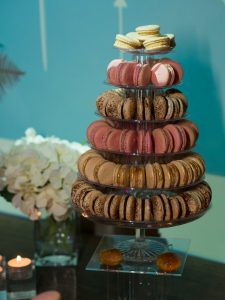 dessert table - macarons tower - Haymarket Hotel - London - UKAWP - 2017 another year of delicious weddings and celebrations