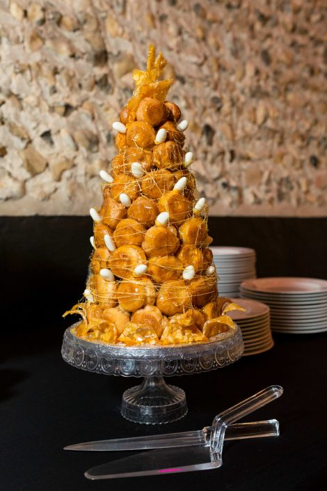 "alt=""Croquembouche – Granary Estates - © Peter Deness Photography"""