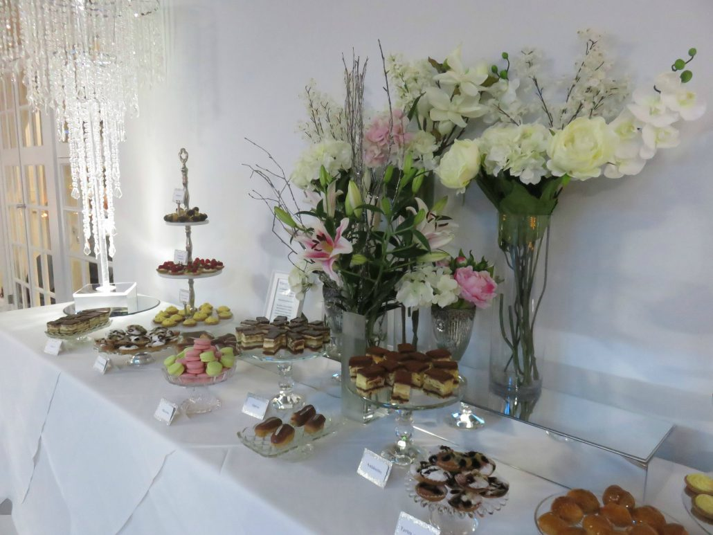 Dessert Table at Swynford Manor
