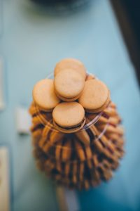 """alt=""""Gourmandises at the Cutty Sark with NAWP macarons tower"""""""