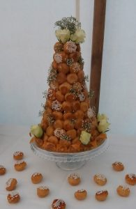 croquembouche - intimate wedding party - 2017 another year of delicious weddings and celebrations