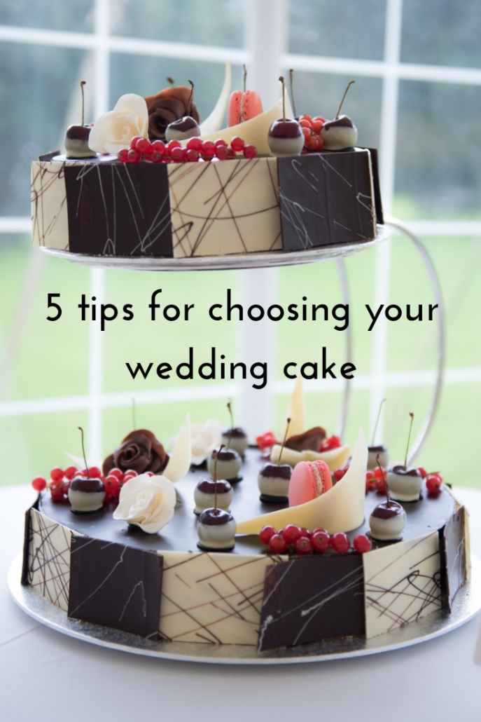 5 tips for choosing your wedding cake