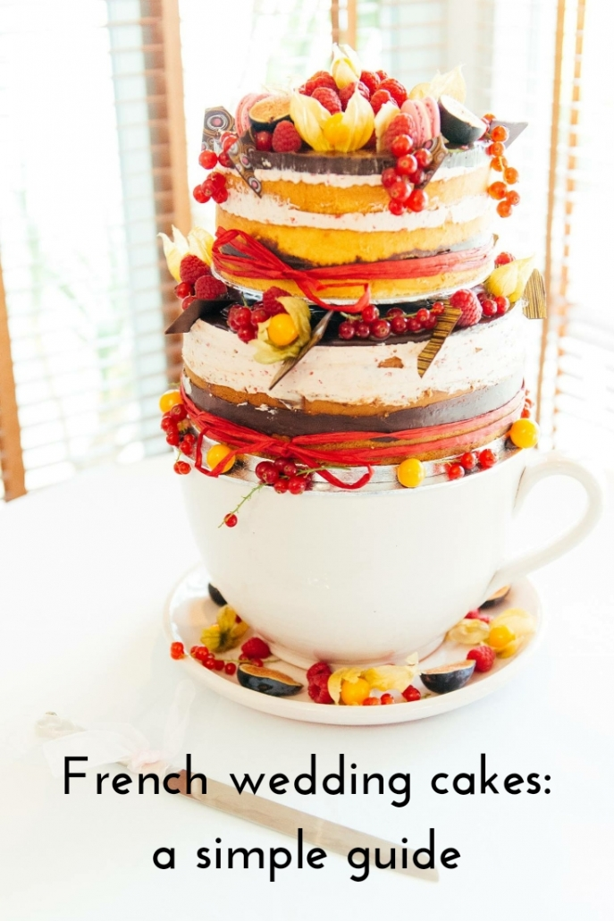 French wedding cakes: a simple guide